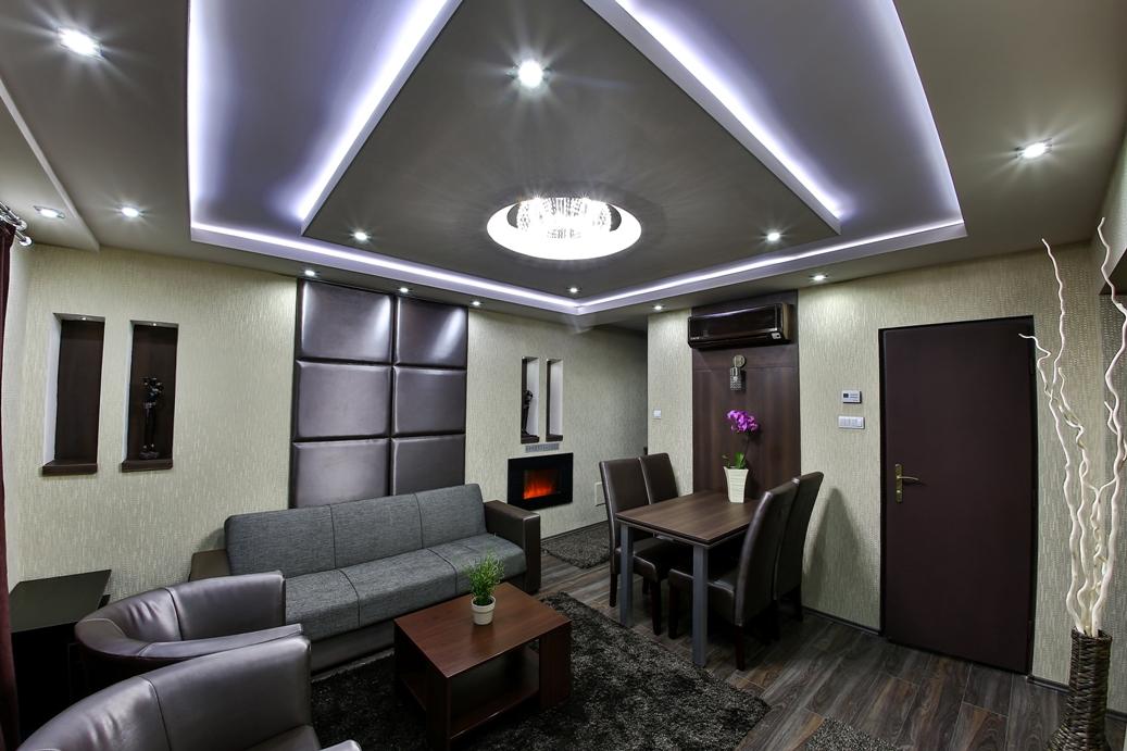 Exclusive Apartman:nappali