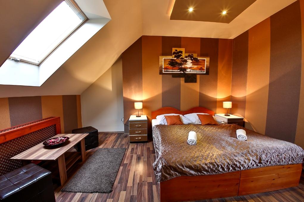 Superior szoba franciággyal